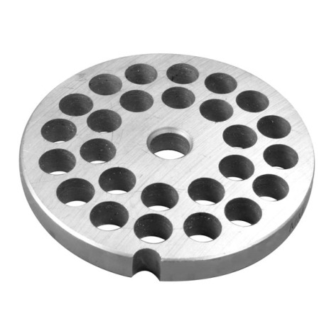 Part - Coarse Grinding Plate for # 1113 and 1224 Meat Grinder