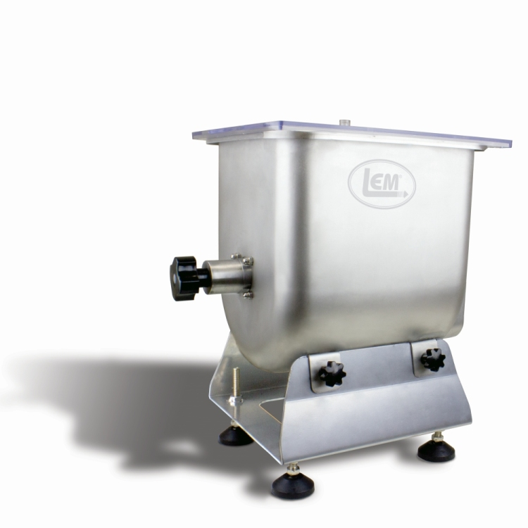 Improved Big Bite Fixed Position Meat Mixer - 25 lb.