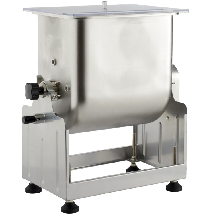 Improved Big Bite Tilt Meat Mixer - 25 lb.