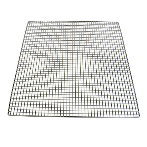 "10 Pack Stainless Steel Shelves with 1/4"" Holes"