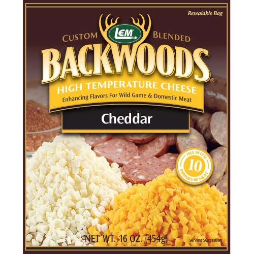 Backwoods High-Temp Cheddar Cheese - 1 lb.