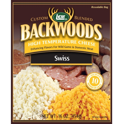 Backwoods High-Temp Swiss Cheese - 1 lb.