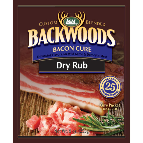 Backwoods Bacon Cure Dry Rub