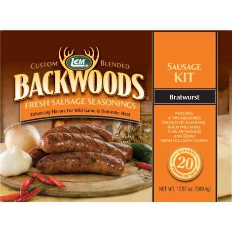 Backwoods Bratwurst Fresh Sausage Kit