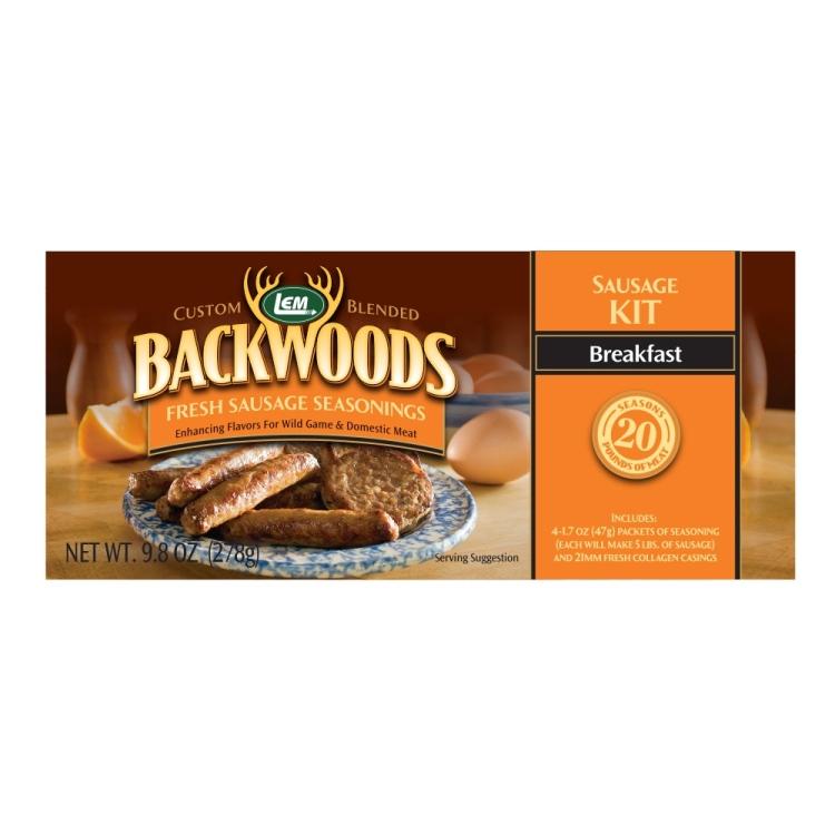 Backwoods Breakfast Fresh Sausage Kit