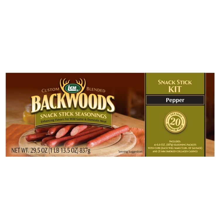 Backwoods Pepper Snack Stick Kit