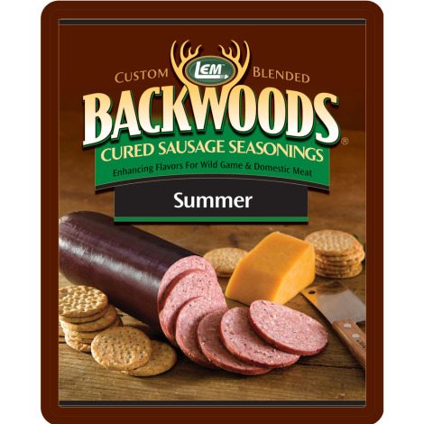 Backwoods Summer Sausage Cured Sausage Seasoning