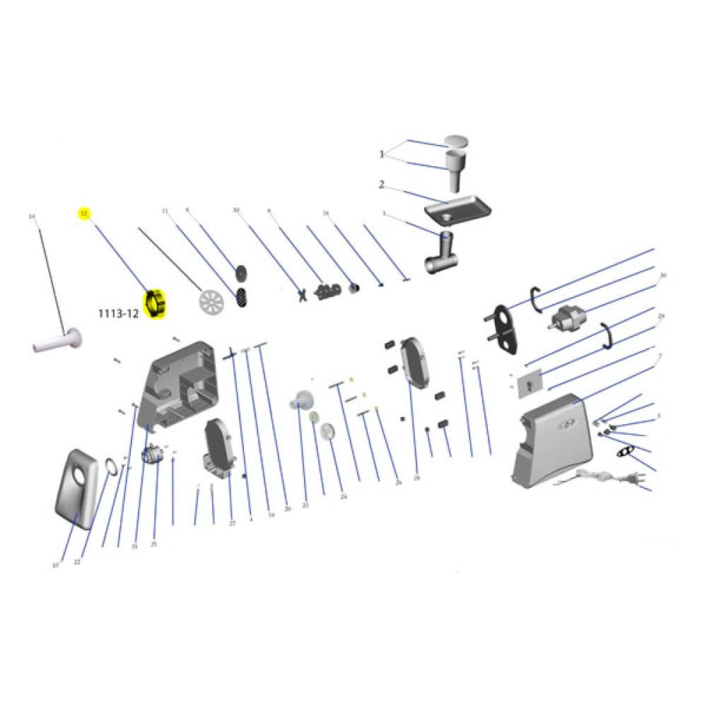Meat Grinder Diagram Download Wiring Diagrams Images Gallery
