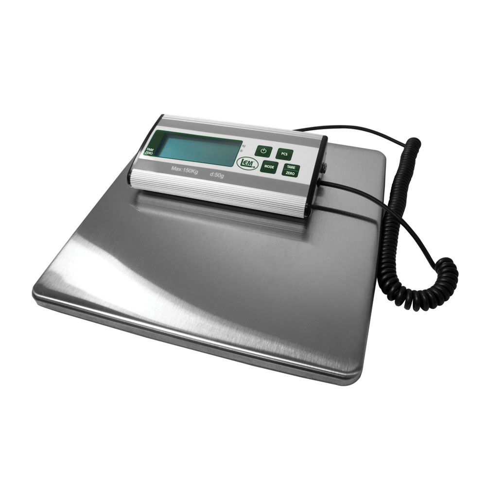 330 Lb Stainless Steel Digital Scale Lem Products