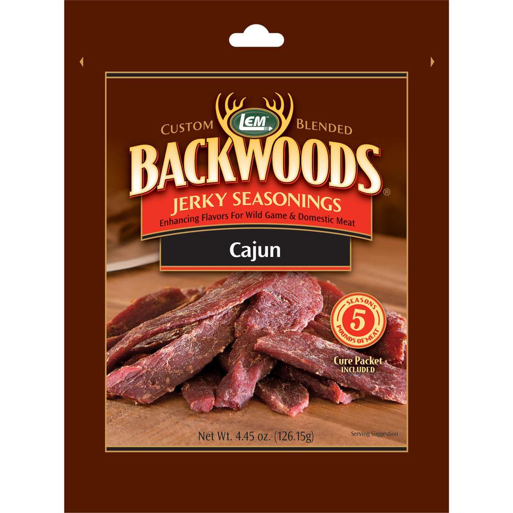 Backwoods Cajun Jerky Seasoning - Backwoods Cajun Makes 5 lbs.
