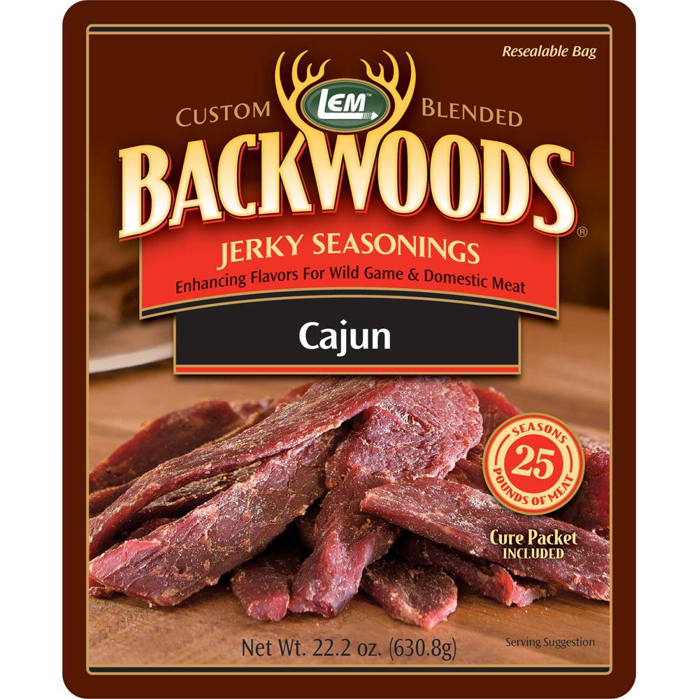 Backwoods Cajun Jerky Seasoning - Backwoods Cajun Makes 25 lbs.