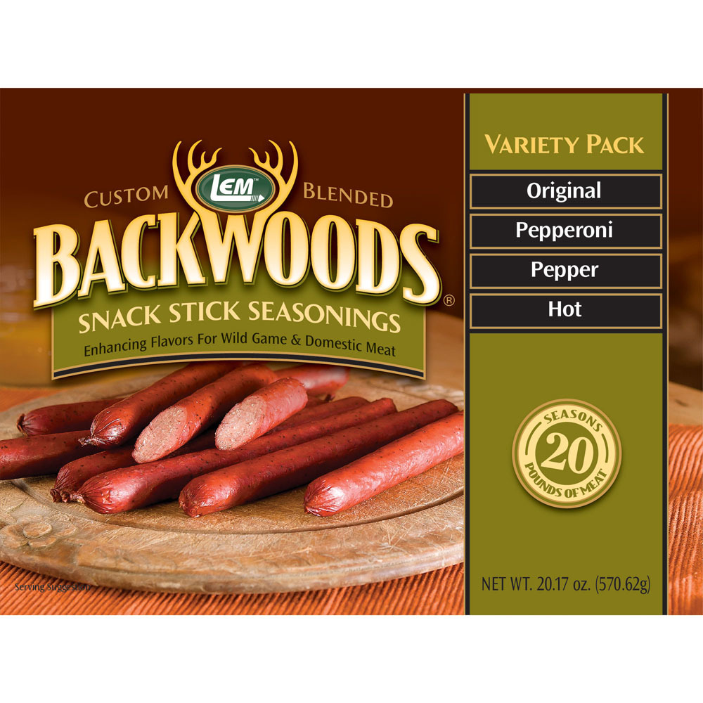 Backwoods Snack Stick Seasoning Variety Pack Lem Products