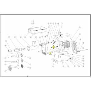 Schematic - Step Gear for 2006 # 5 Big Bite Grinder # 777