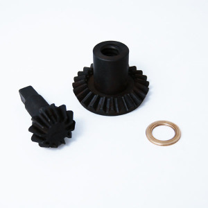 Part - Black Metal Gears (Set Of Two Gears) for 15 lb. Vertical Stuffer # 607 & 607SS