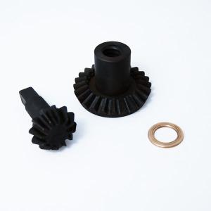 Part - Black Metal Gears (Set Of Two Gears) for 15 lb. Vertical Stuffer # 607 & 607SS