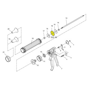 Gun Schematic - Plastic Piston - For Jerky Cannon or Gun