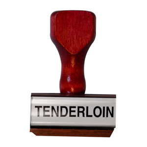 Tenderloin Stamp
