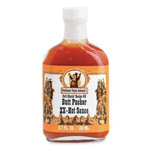 Professor Payne Indeass's Butt Pucker  XX Hot Sauce