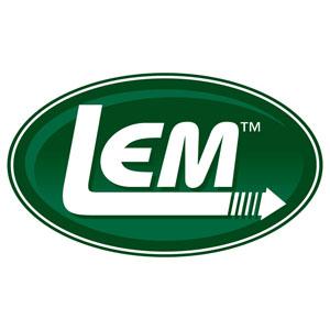 LEM Logo Car Magnet