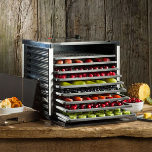 Mighty Bite 10-Tray Double Door Countertop Dehydrator