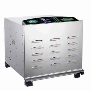Big Bite Digital Stainless Steel Dehydrator - Big Bite Digital SS Dehydrator with Stainless Steel Trays