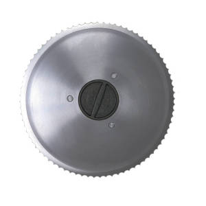 Serrated Blade for 7.5 Inch Slicer 1129 - Front Face