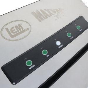 MaxVac 250 Vacuum Sealer Control Panel