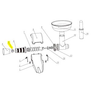 Part - Rubber Plug for Big Bite Juicer #1227