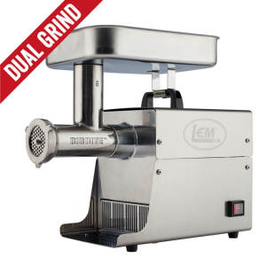 Dual Grind #8 Big Bite Meat Grinder - 0.5HP