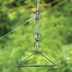 Rope Hoist & Collapsible Gambrel