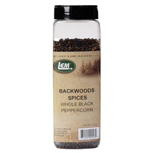 Backwoods Whole Black Peppercorns