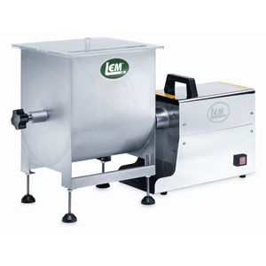 Big Bite Motorized or Manual Meat Mixer - 25 lb. Capacity