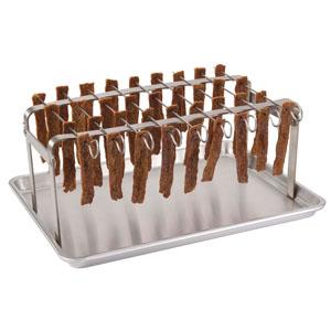 Jerky Hanger With 9 Skewers And Seasoning