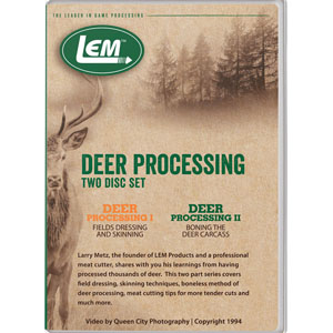 Deer Processing Set I & II DVD