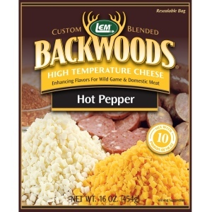 Backwoods High-Temp Hot Pepper Cheese - 1 lb.