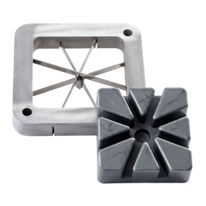 French Fry Cutter Accessory Blades & Plates - Wedge and Shoestring