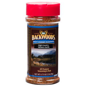 Backwoods High Country Hickory Garlic Rub