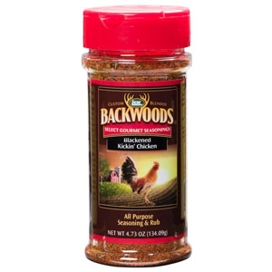 Backwoods Blackened Kickin' Chicken Rub