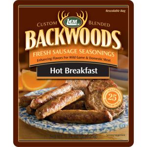 Backwoods Hot Breakfast Fresh Sausage Seasoning - Makes 25 lbs.