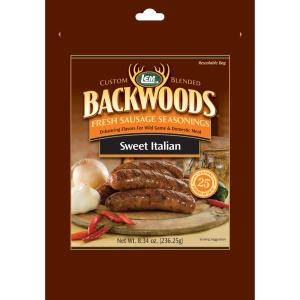 Backwoods Sweet Italian Fresh Sausage Seasoning - Makes 25 lbs.