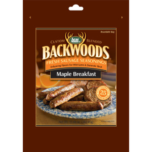 Backwoods Maple Breakfast Fresh Sausage Seasoning - Makes 5 lbs.