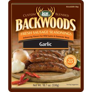 Backwoods Garlic Fresh Sausage Seasoning - Makes 5 lbs.