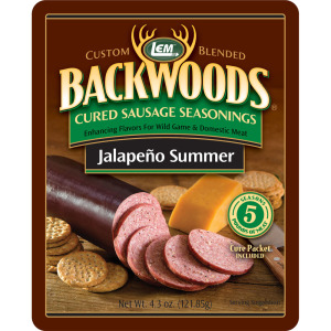 Backwoods Jalapeno Summer Cured Sausage Seasoning - Makes 5 lbs.
