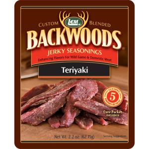 Backwoods Teriyaki Jerky Seasoning - Makes 5 lbs.