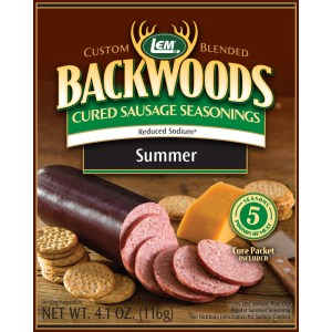 Backwoods Reduced Sodium Summer Sausage Cured Sausage Seasoning