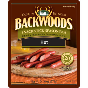 Backwoods Hot Snack Stick Seasoning - Makes 25 lbs.
