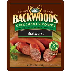 Backwoods Bratwurst Cured Sausage Seasoning - Makes 5 lbs.