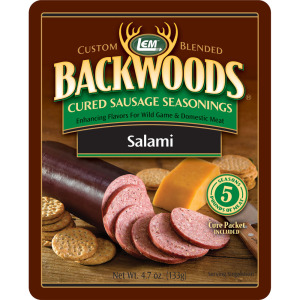 Backwoods Salami Cured Sausage Seasoning - Makes 5 lbs.