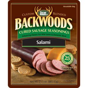 Backwoods Salami Cured Sausage Seasoning - Makes 25 lbs.