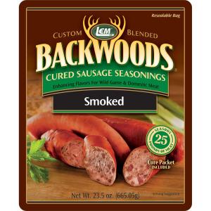 Backwoods Smoked Sausage Cured Sausage Seasoning - Makes 25 lbs.